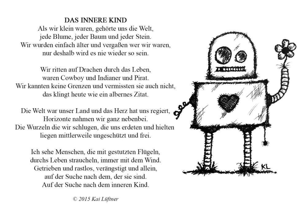 Postkarte - Das innere Kind - Kai Lüftner