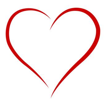 elegantes Herz - classy heart